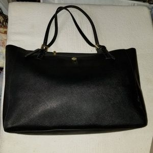 Tory Burch black large York tote